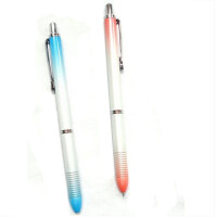 晨光AMPH0302 玩味胡子活动铅笔/自动铅笔彩色全金属 0.5m 笔杆颜色随机