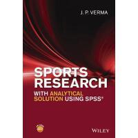 【预订】Sports Research with Analytical Solution Using Spss? 97