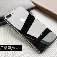 苹果8plus手机壳网红iphone6splus玻璃8后盖7plus镜面7防摔外壳六硅胶七男女款6s 苹果 7p/8p