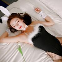 情趣内衣服兔女郎激情套装学生装性感连体制服护士小胸丝袜女sm骚