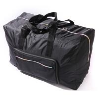 可折�B旅行包手提旅行袋女大容量出差短途男登�C防水行李袋旅游包 黑色 090款 大