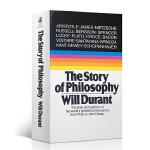英文原版 哲学的故事 The Story of Philosophy哲学简史 威尔杜兰特 哲学家的生平与哲学观点
