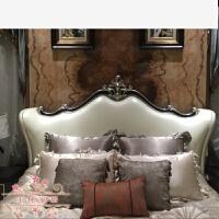欧式法式美式家具店床品婚庆多件套样板房样板间棉床上用品 浅黄色