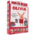 准备阅读系列 小猪奥莉薇6册礼盒装 英文原版绘本 OLIVIA's Sensational Stories Ready