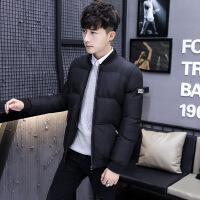 棉衣男冬季外套韩版修身短款冬装男