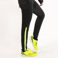 春夏季小腿男足球训练裤跑步健身学生运动长裤足球裤