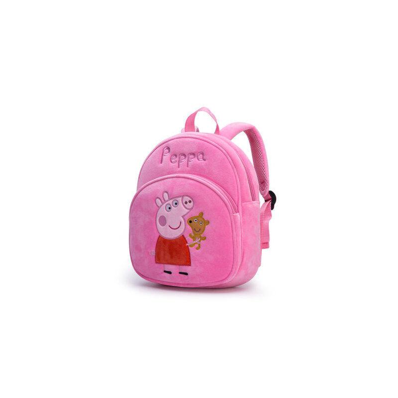 幼儿园1-3岁小猪佩奇书包佩琪乔治儿童宝宝可爱双肩背包男童女孩