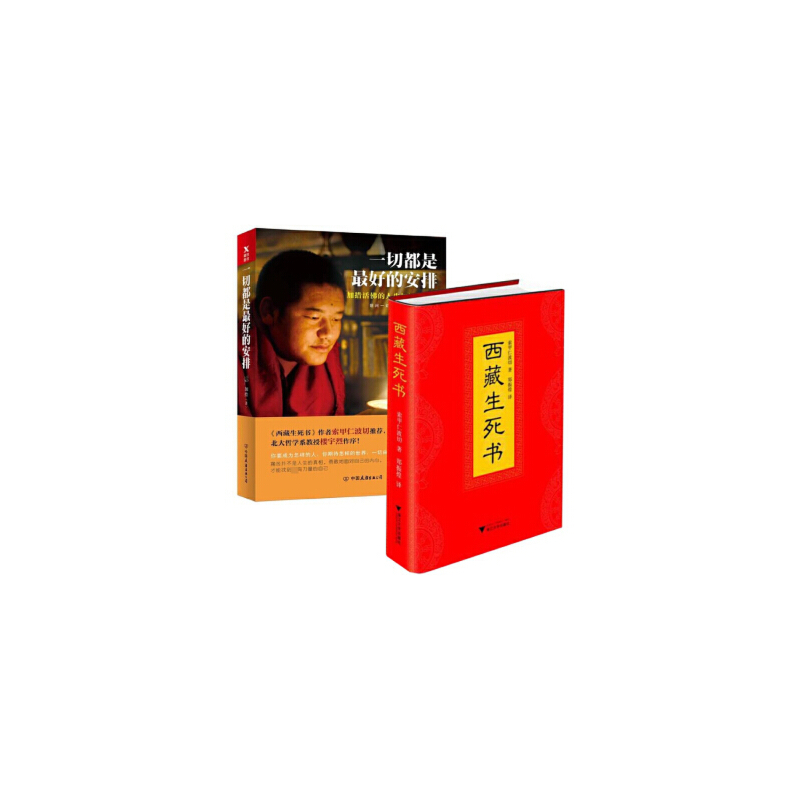西藏生死书  一切都是最好的安排共2册藏传佛教宗教佛学文化哲学佛学佛教书籍成功励志正版