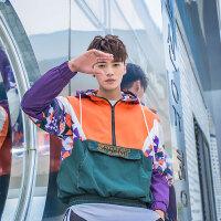 夹克运动外套男韩版薄款棒球服修身外衣休闲秋帅气秋季男士