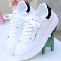 小白鞋女原宿板鞋厚底休闲运动鞋子秋季