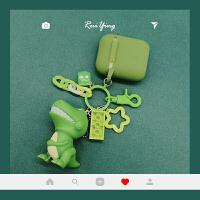 卡通可爱AirPods保护套硅胶苹果airPods2无线蓝牙耳机保护套防摔防丢软壳iPhone耳机套 AriPods