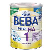 保税区直发 德国Nestlé雀巢BEBA贝巴适度水解奶粉1段(0-6个月)800g