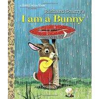 我是一只小兔子 金色斯凯瑞 英文原版I am a Bunny