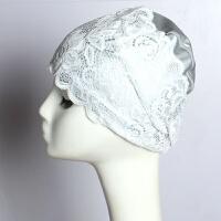 游泳帽女长发时尚可爱蕾丝印花女士防水不勒头