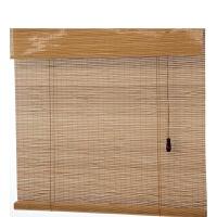 艾欧唯 阳台茶室客厅中日式装饰竹卷帘竹帘窗帘卷帘门帘遮光挂帘隔断