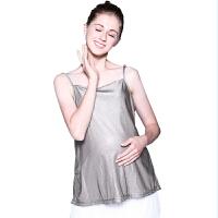 可调银纤维防辐射服背心内穿 防辐射服孕妇装防辐射吊带
