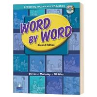 培生朗文英语词典词汇初级练习册 英文原版 Word by Word 小学初中英语书籍 附CD 英文版进口工具书