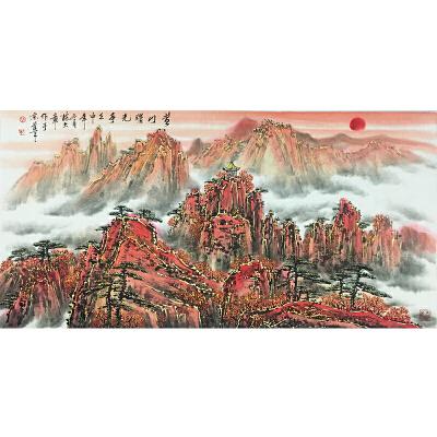 陈大章《黄山》著名画家