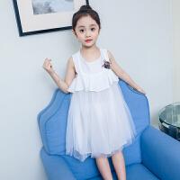 女童连衣裙夏装新款儿童纱裙洋气女孩夏季裙子公主裙潮