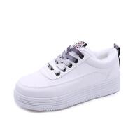 棉鞋女冬季皮面二棉鞋百搭学生韩版保暖白鞋加绒小白鞋女