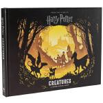 哈利波特 魔法生物 3D立体纸雕书 英文原版 Harry Potter Creatures 精装立体书 英文版纸质场景