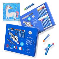 儿童油画棒幼儿园宝宝涂鸦绘画画笔套装 可水洗水溶性
