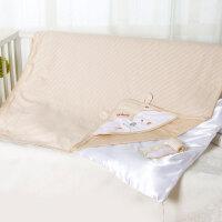 婴儿抱被纯棉春夏秋冬四季款脱胆 宝宝包被睡袋两用床品可