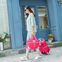 拉杆包女万向轮旅行包 拉杆袋大容量登机旅行袋男行李子母包