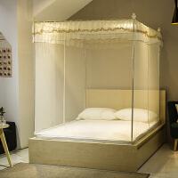 蚊帐双开门1.2m床坐床式拉链1.5m床蒙古包1.8m米床双人床家用蚊帐