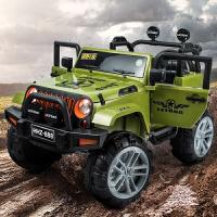 儿童电动四轮汽车四驱越野带遥控可坐人玩具车双人超大号充电童车