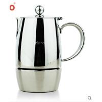 摩卡壶 不锈钢咖啡壶 家用意式煮咖啡机 可用电磁炉
