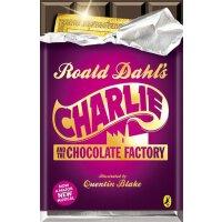 英文原版 Charlie and the Chocolate Factory