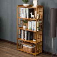 幽咸家居 仿古书柜书架简易学生书架桌上置物架组合现代简约创意儿童书架