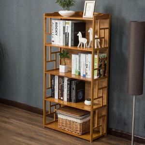 【每满100-50】幽咸家居 仿古书柜书架简易学生书架桌上置物架组合现代简约创意儿童书架