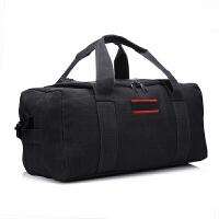 大容量帆布旅行包手提行李包袋长途单肩搬家旅行袋大包男托运包女 大