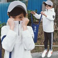 童装男童套头卫衣春秋新款韩版中大童休闲上衣儿童连帽