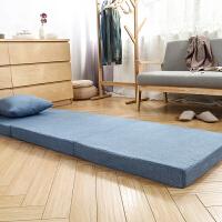 熙元可折叠办公室午休垫 打地铺 海绵床垫 榻榻米垫单双人床垫