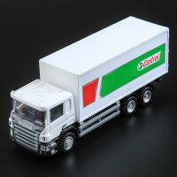 1:64合金工程车模货柜车运输车儿童玩具汽车模型男孩礼物滑行卡车