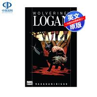 英文原版 漫威骑士 金刚狼 罗根 Wolverine Logan 漫威漫画故事书合集