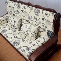 实木沙发海绵垫联邦椅垫春秋椅坐垫老式沙发坐垫带靠背加厚