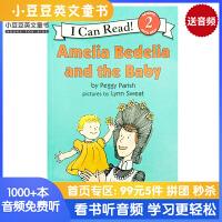 英文原版 Amelia Bedelia and the Baby [4-8岁]#