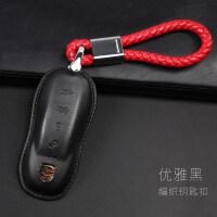 钥匙包专用保时捷911boxster卡宴帕拉梅拉男女macancayman 汽车用品