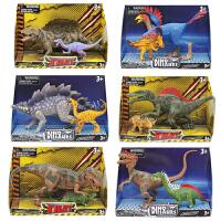 经典稀有恐龙玩具模型关节可动霸王龙剑龙翼龙