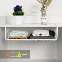 寝室宿舍神器厨房橱柜衣柜收纳篮储物篮置物架柜子分层隔板下挂篮