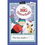 英文原版圣诞节绘本 THE BIG SNOWBALL 汪培�E第一阶段 Penguin Group pic