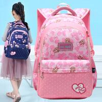 小学生书包女童1-34-6一年级双肩包11岁女孩公主可爱校园背包