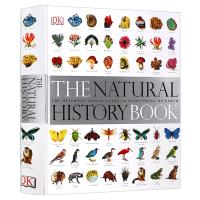 DK博物大百科 自然史图解 英文原版 The Natural History Book 少儿百科全书自然丛书 植物动物
