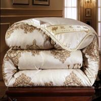 驼毛被驼绒被子加厚6/8/10斤羊毛被保暖被芯单人双人棉被子