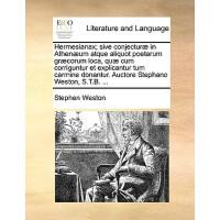【预订】Hermesianax; Sive Conjectur] in Athen]um Atque Aliquot