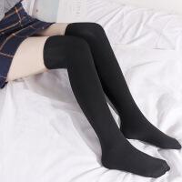 №【2019新款】美女穿的过膝长筒袜丝袜秋冬外穿美腿袜日系学生风打底袜 均码